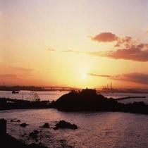 ◆八戸の夕日