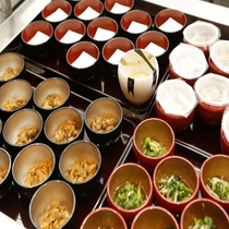 ◆朝食:小鉢