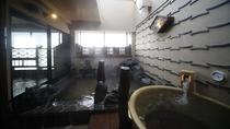◆女性大浴場≪天然温泉南部の湯≫ 露天風呂(湯温:41~42℃)