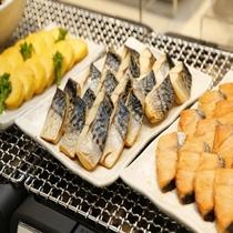 ◆朝食:焼き魚