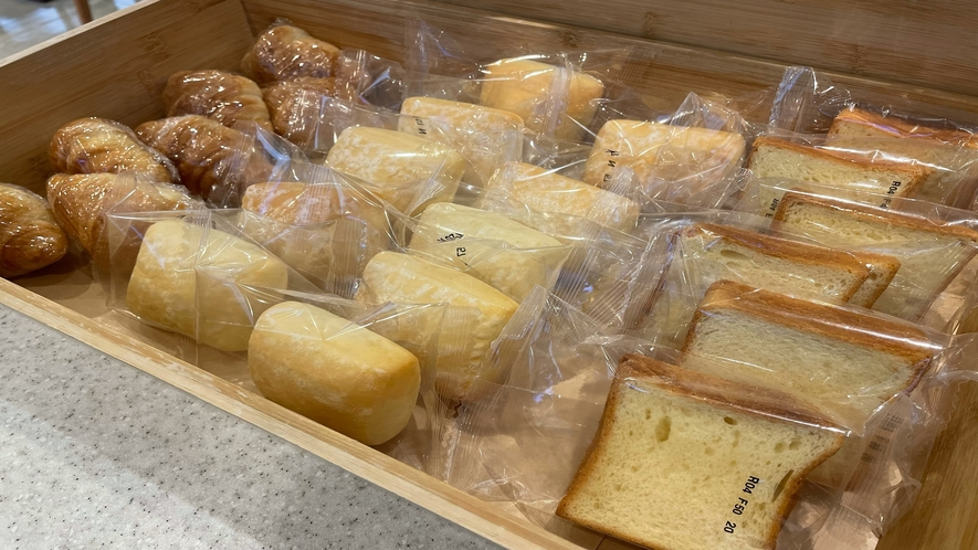 ◆朝食 パン(イメージ)