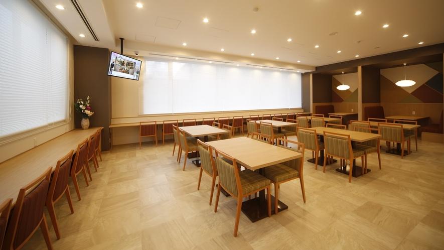 ◆レストラン会場『Hatago』 営業時間:6時30分~9時(LO8:45)51席