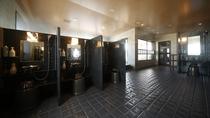 ◆男性大浴場≪天然温泉南部の湯≫ 洗い場(9ヵ所)