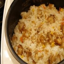 ◆朝食:炊き込みご飯