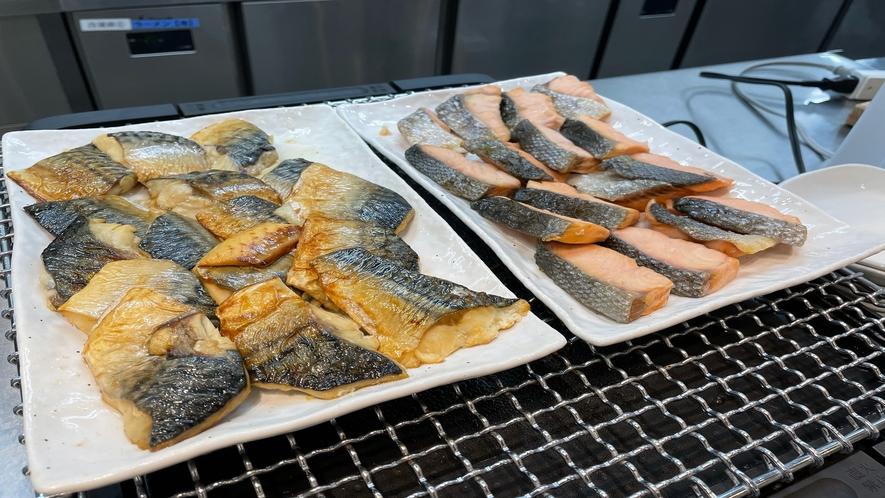 ◆朝食 焼き魚(イメージ)