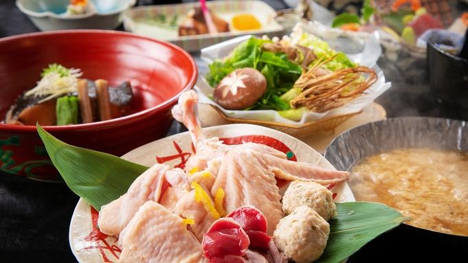 【グルメ会席-山海の恵】<伊達鶏の親子鍋・銀鱈の煮つけ>がメイン!ちょっとボリュームUPしたいが叶う