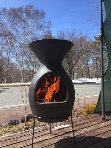 チムニー型BBQ焚火台
