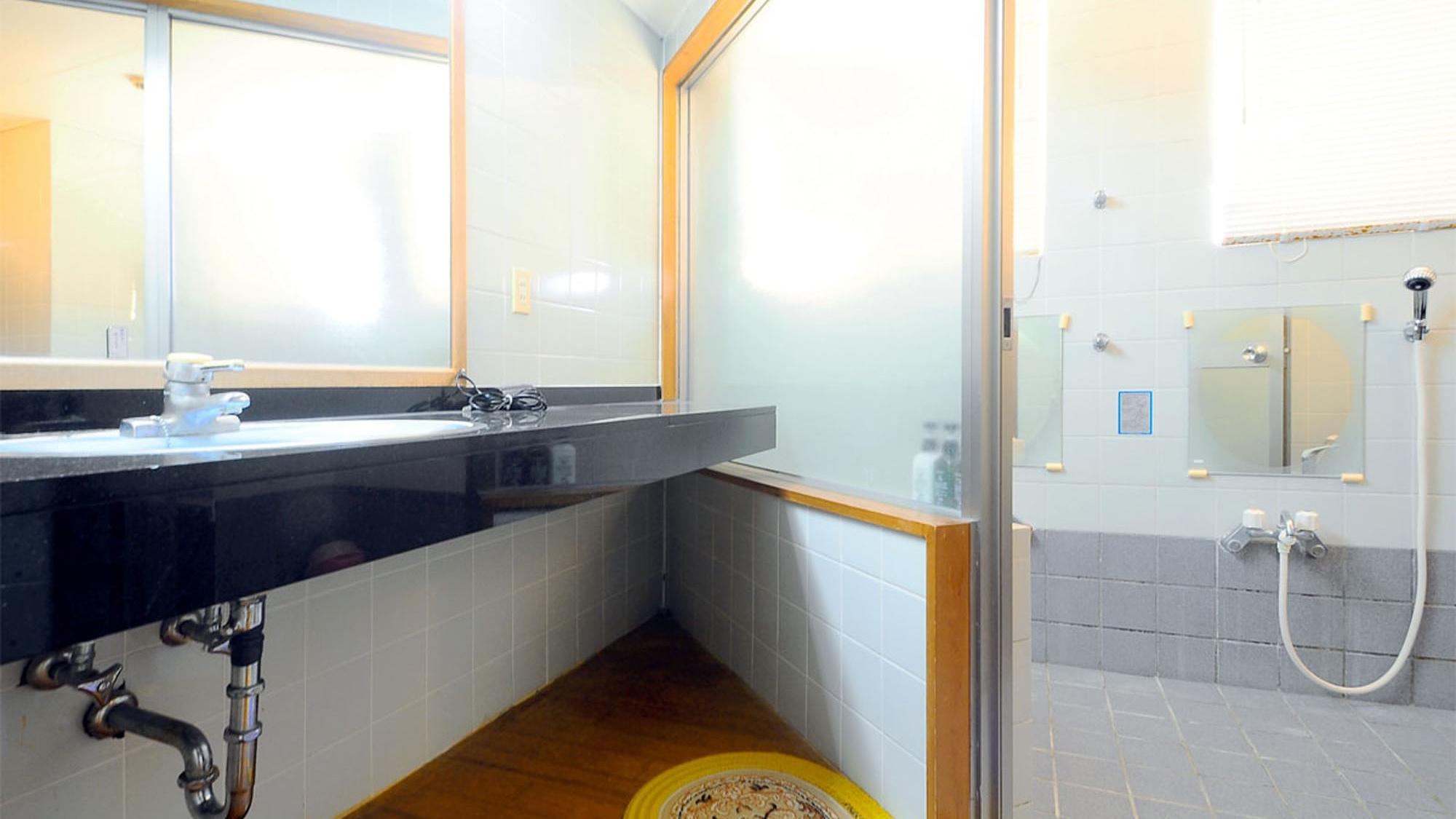【別館和室フォース】洗面台・浴室