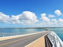 【伊良部大橋】伊良部島と宮古島を結ぶ伊良部大橋