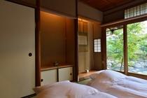 看月亭 寝室