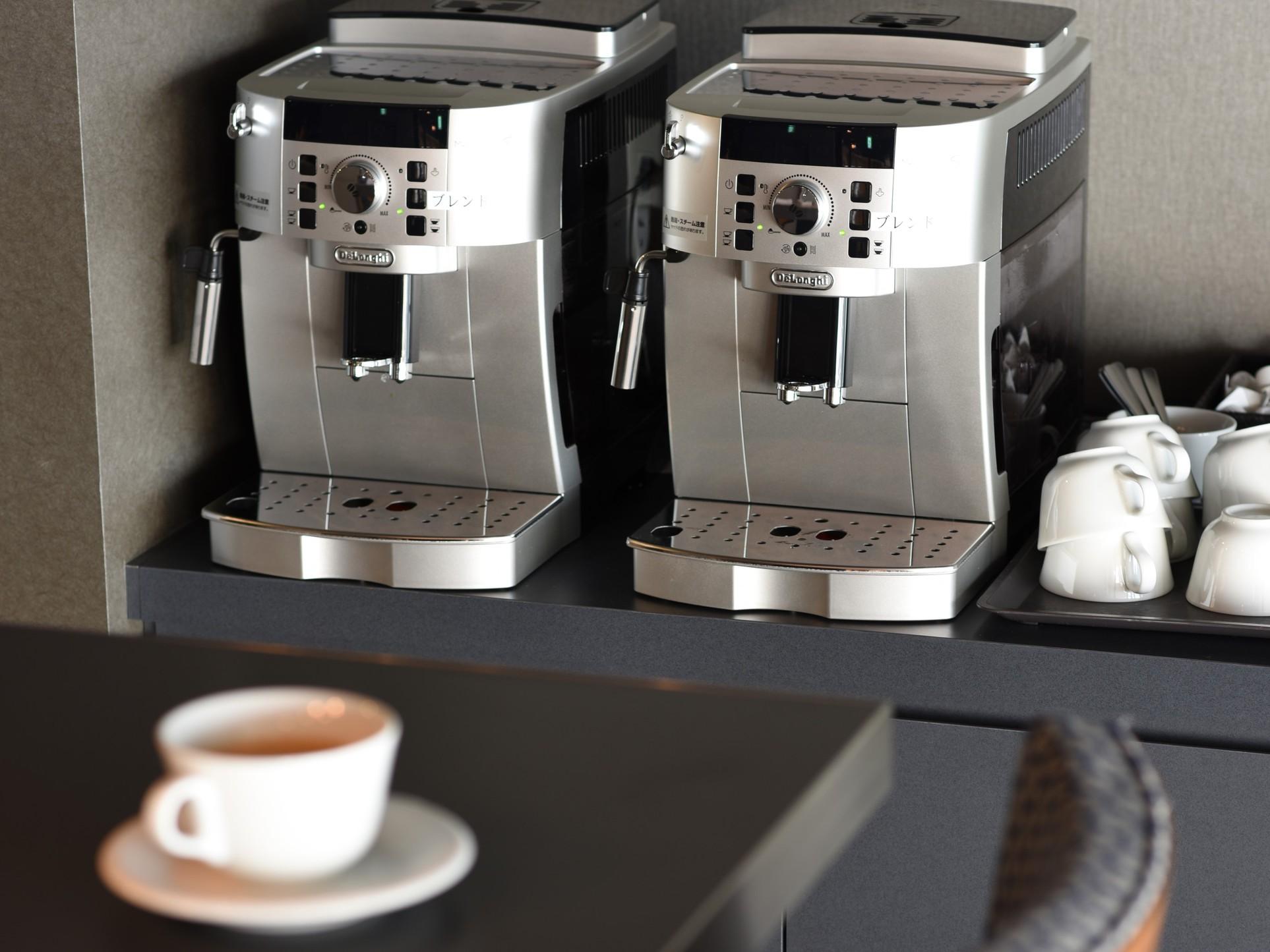 ウェルカムコーヒーのサービスもございます!!