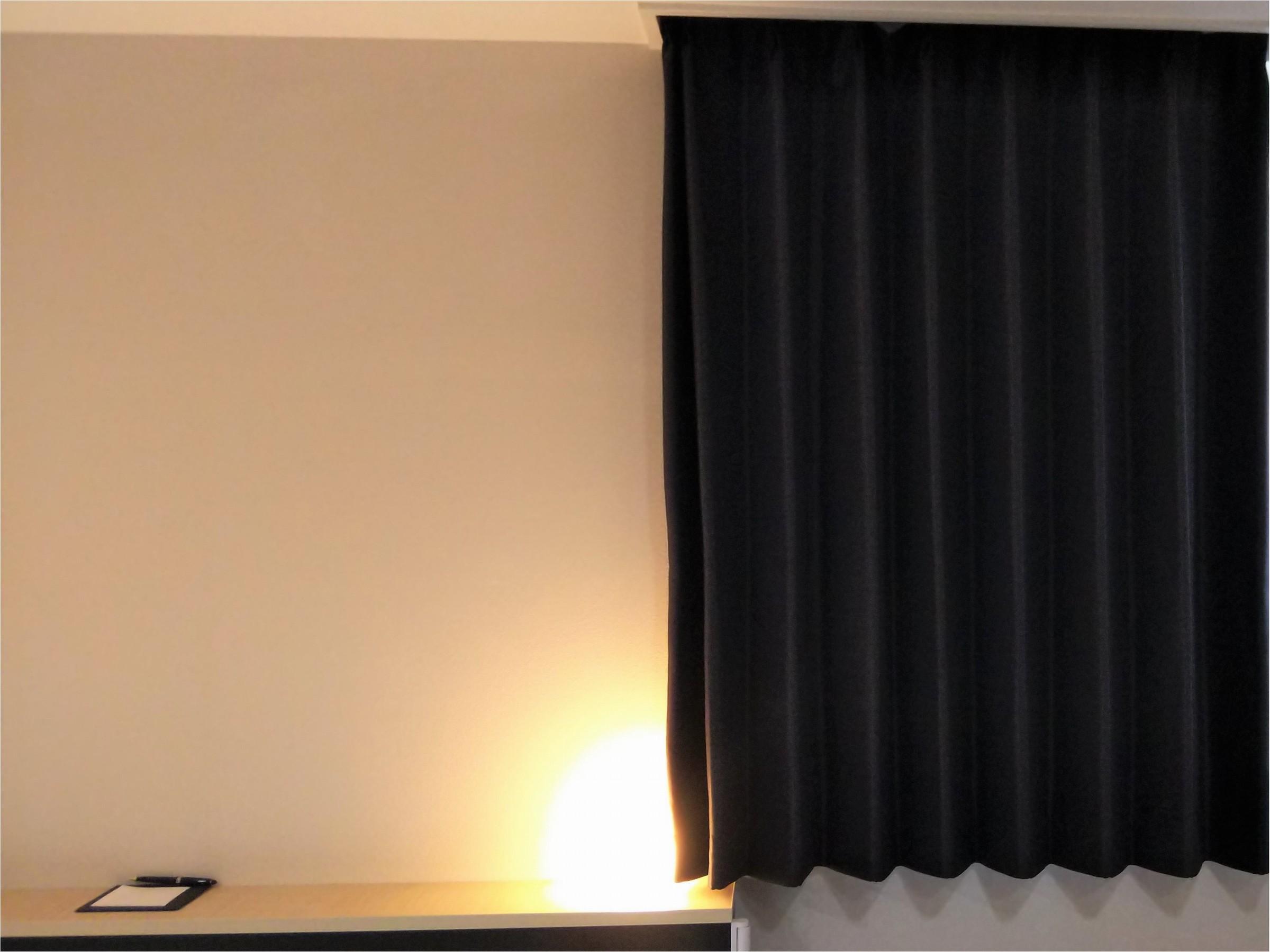 眩しい朝にも遮光カーテンでぐっすり♪