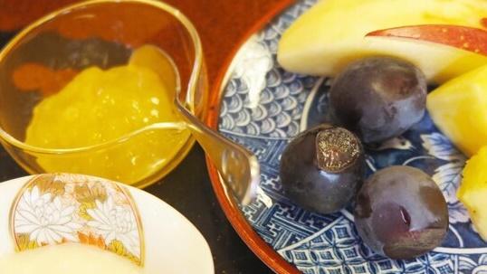 *【洋朝食一例】フルーツ・ヨーグルト・手作りジャム