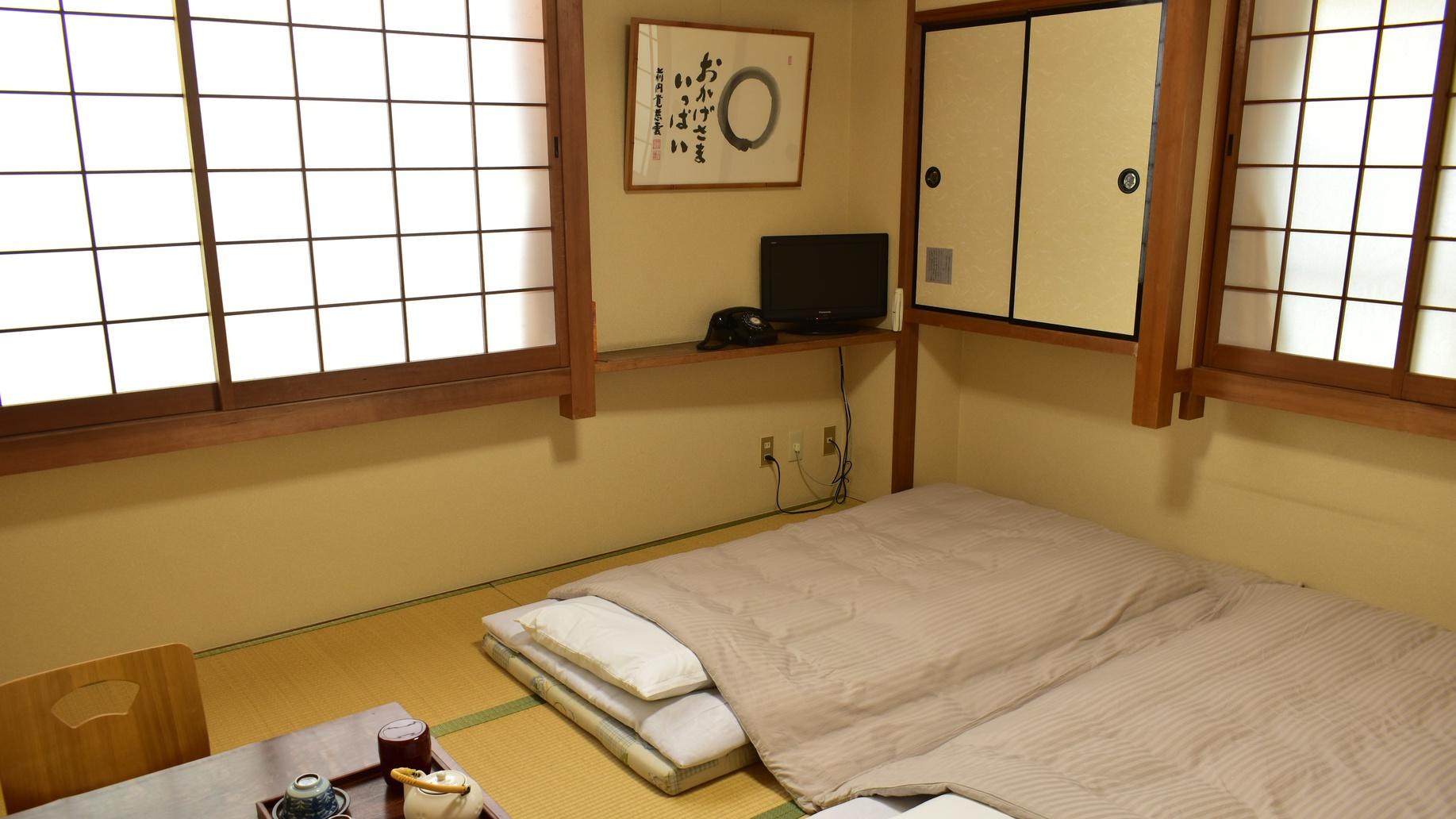*【和室8畳ユニットバス付き一例】お好きな時間にシャワーをご利用いただけます♪♪