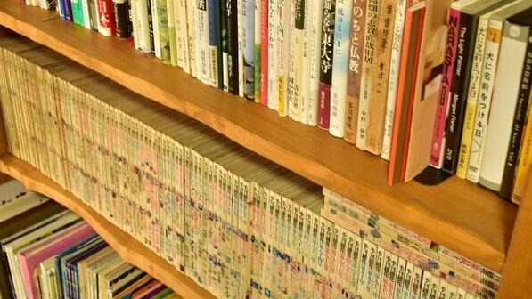 *ライブラリー】お子様向けの本もご用意しております。