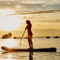 ホタテビーチ|サンセットが美しい恩納村の西海岸♪