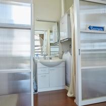 【MOF】|清潔な洗面台、洗濯機・乾燥機もご用意しております。