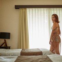 【Scallop(B)】|海風も気持ち良いベッドルーム