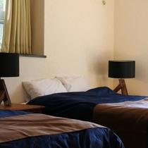 【Scallop(B)】|落ち着いたベッドルームで、寛ぎのひと時をお過ごし下さい。