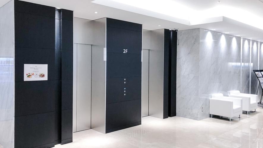 2Fエレベーターホール