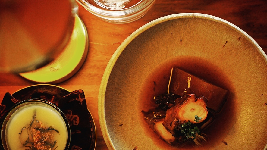 "Restaurant ""AMANARI"" by Miru Amami"
