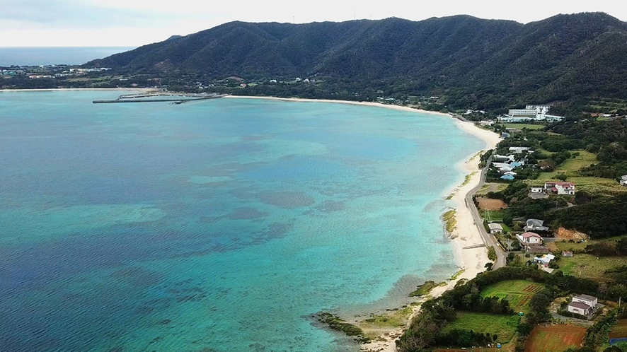 芦徳長浜の美しい海