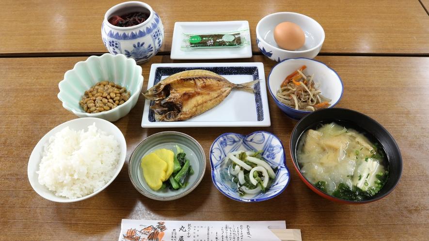 *【朝食一例】和定食(食事場所:広間)
