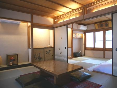 【空-KU-】和室2間+縁側 庭を眺めるお部屋  2階