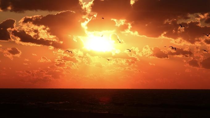 【海側の部屋確約】日本海に沈む絶景の夕映が見れます!お夕食は毛蟹の姿盛と白老牛すき焼き<2食付き>