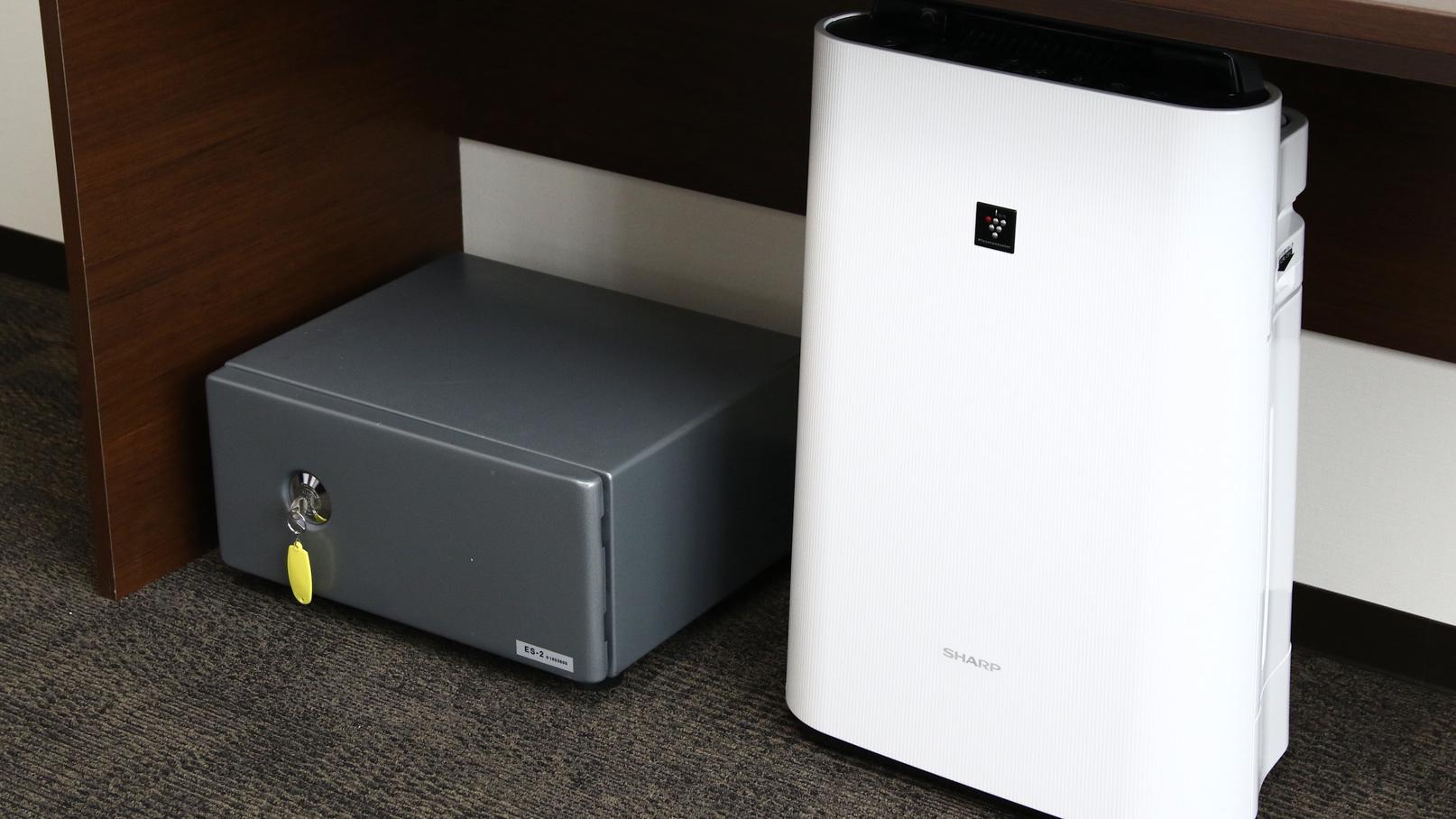 貴重品BOX・空気清浄機