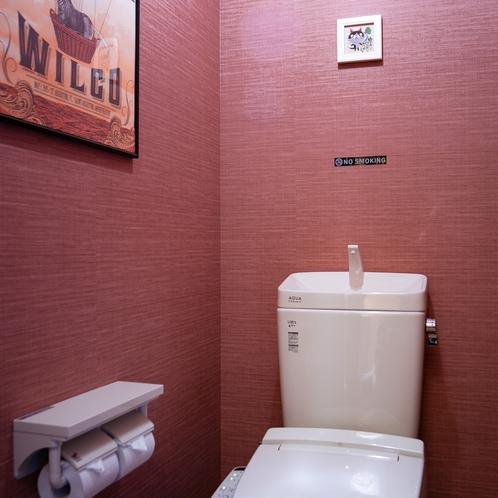 離れのトイレ