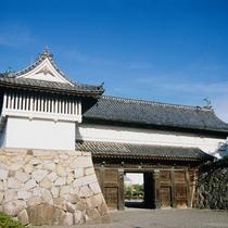 佐賀城 鯱の門/当館から車で約10分