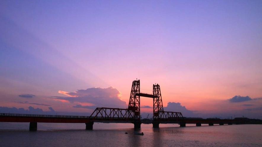 後川昇周辺観光/筑開橋・・・当館から車で約30分