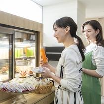 コンチネンタルブレックファースト/佐賀産にこだわった朝食をお楽しみください