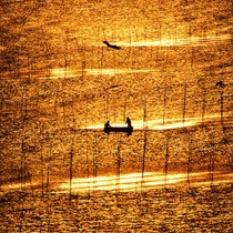 有明海の夕暮れ