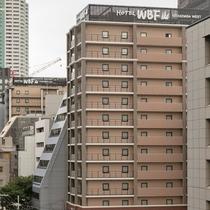 近隣に姉妹ホテル「WBF北船場WEST」がございます