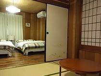 二階寝室 洋室&畳部屋