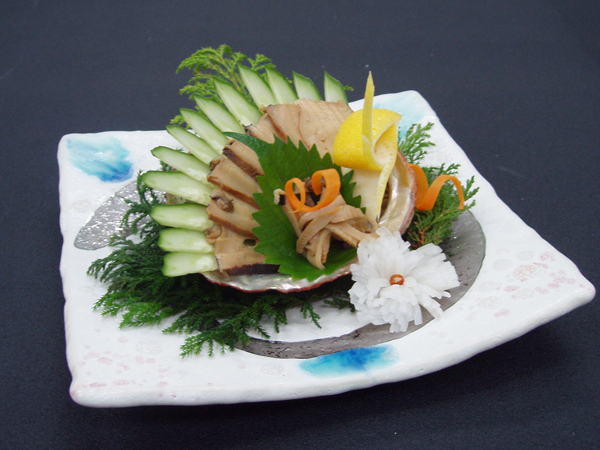 甲州名物「鮑の煮貝」