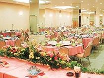 ご宴会場_最大300名収容可能!セミナーやイベントにもご利用いただけます。
