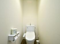 【デラックスツイン】セパレート式の温水シャワー洗浄便座付きトイレ