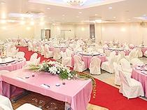 ご宴会場_ご結婚の披露宴などにもご活用ください。