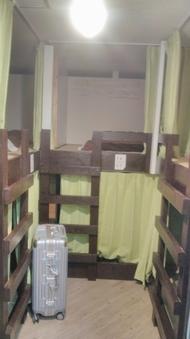 男女混合ドミトリー(8人部屋、2段ベッド)