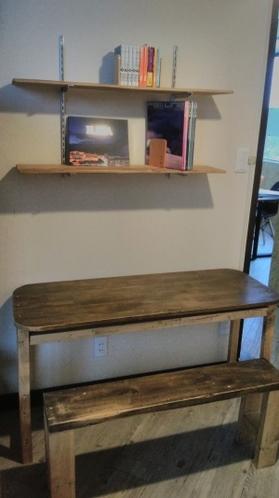 ハンドメイドテーブル・椅子