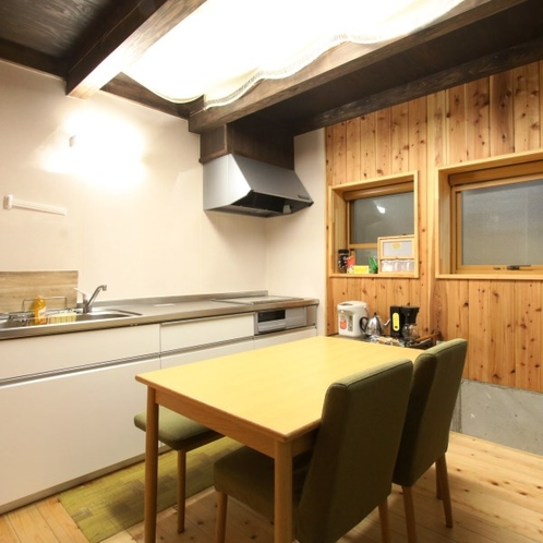 【キッチン】調理器具、食器類、調味料は自由に使えます♪