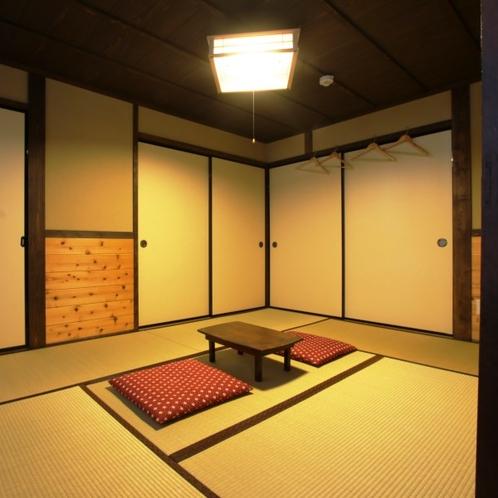 【個室】和室6畳のお部屋の様子です