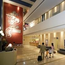 ホテル3階ロビー