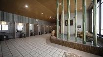 ◆女性水風呂及び洗い場 カラン_男10個&女8個設置