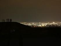 ホタルと夜景の鑑賞会にて