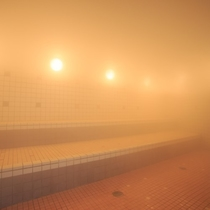 ◇◆ホテル棟大浴場◆◇石づくりのお風呂・ミストサウナ※別途ご入浴料を頂いております。