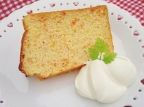 グレープフルーツシフォンケーキ 2